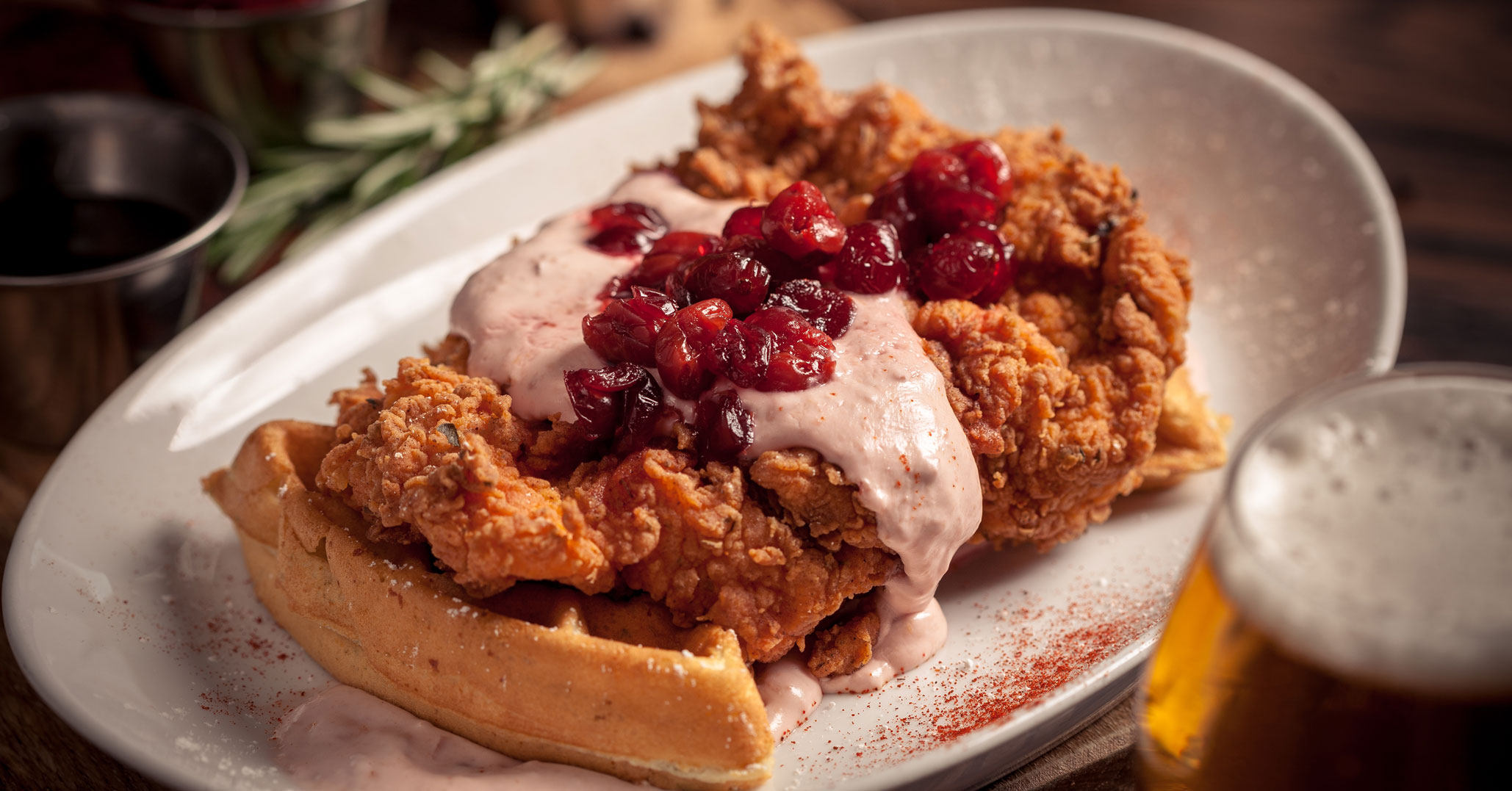 American Social Chicken and Waffles
