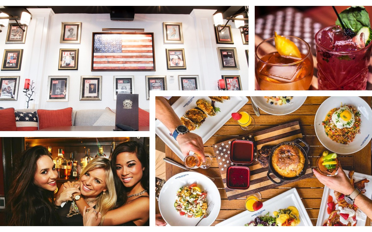 American Social in Las Olas Picture Collage